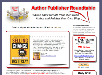 Author Publisher Roundtable - That Sales Guy
