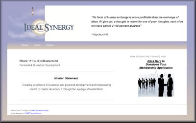 Ideal Synergy Mastermind Group