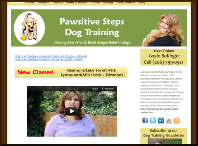 Pawsitive Steps Dog Training